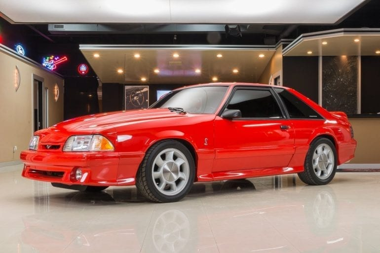 1993 Mustang Color Information