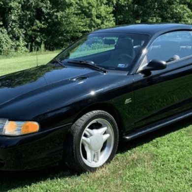 1995 Mustang Color Information