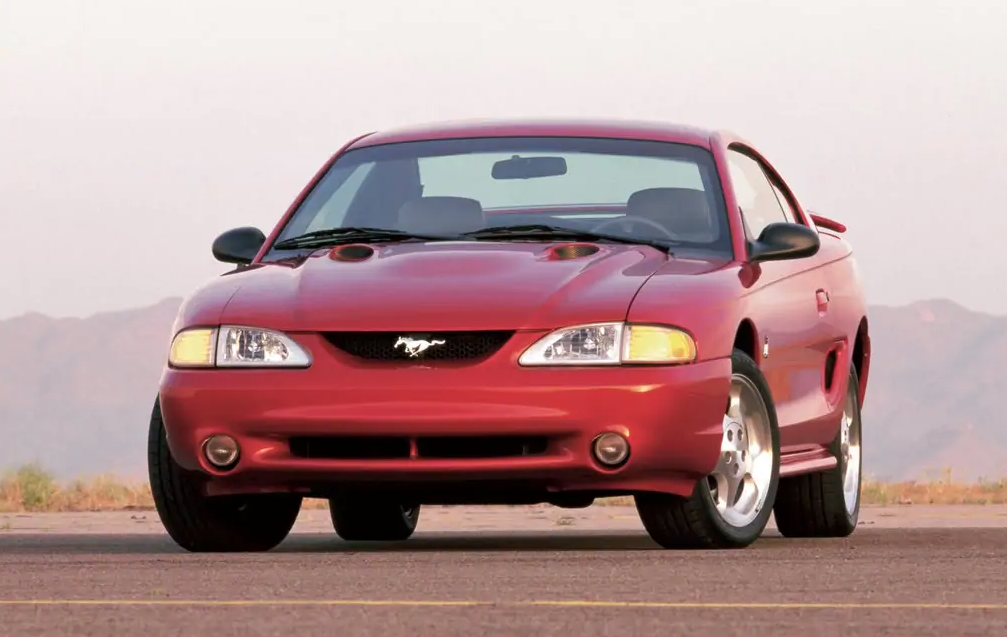 1996 Mustang Color Information