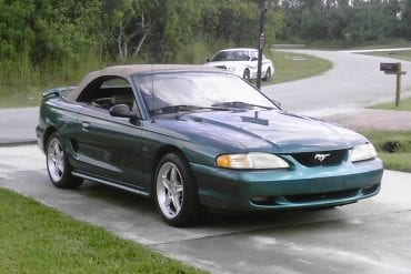 1997 mustang color information