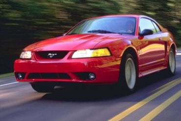 1999 Mustang Color Information