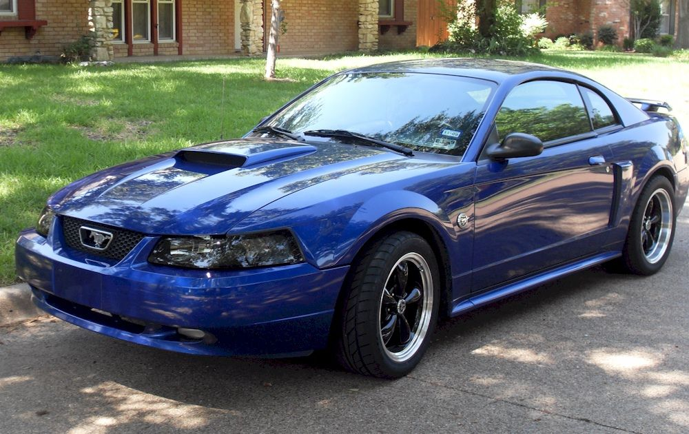 2000 Mustang Color Information