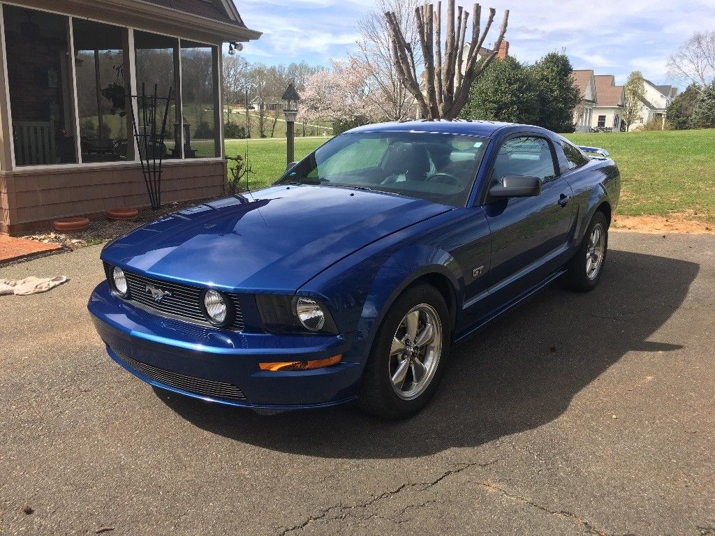 2007 Mustang Color Information