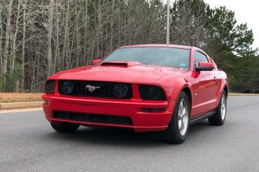 2008 Mustang Color Information