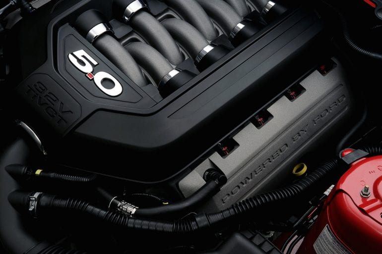 2021 mustang coyote engine