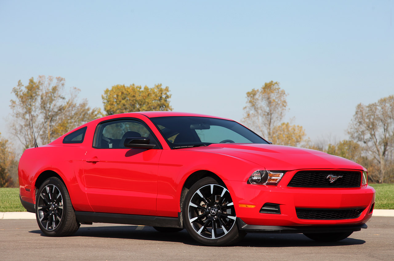 2012 Mustang Color Information