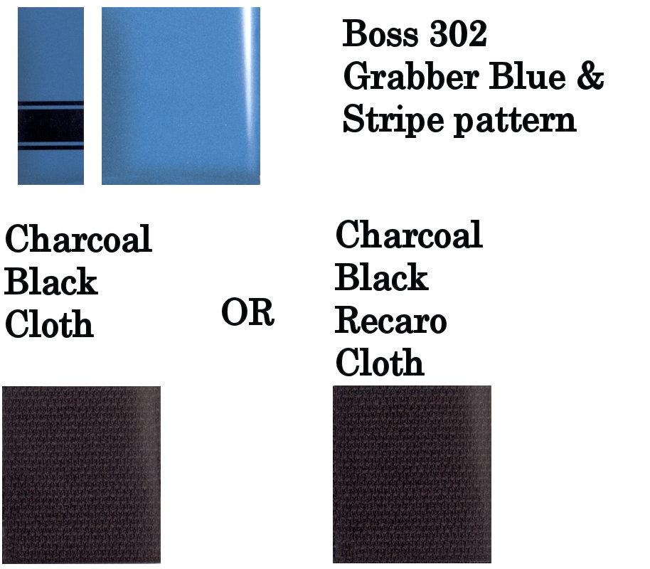 2013 BOSS 302 Grabber Blue