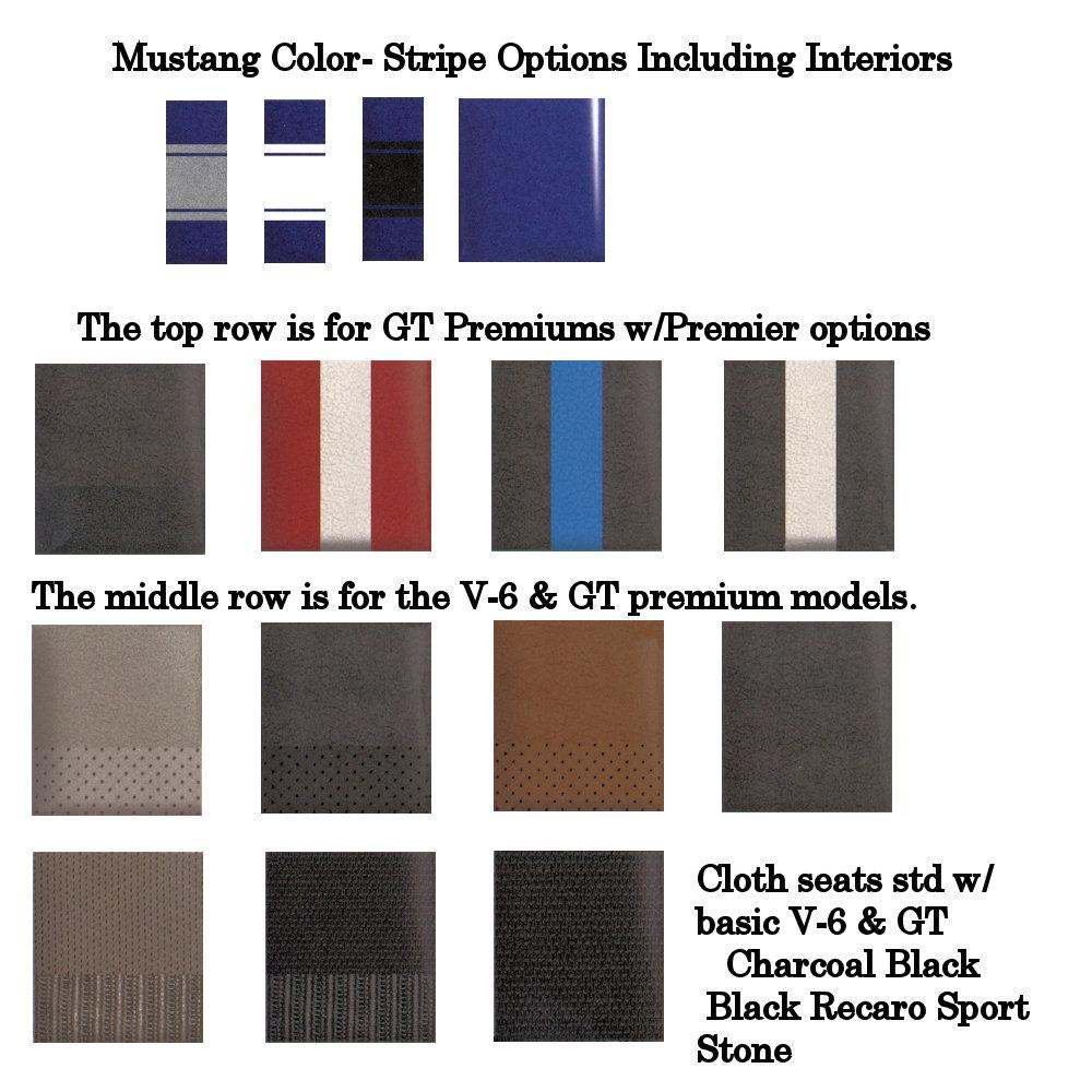 2013 Mustang Deep Impact Metallic Blue