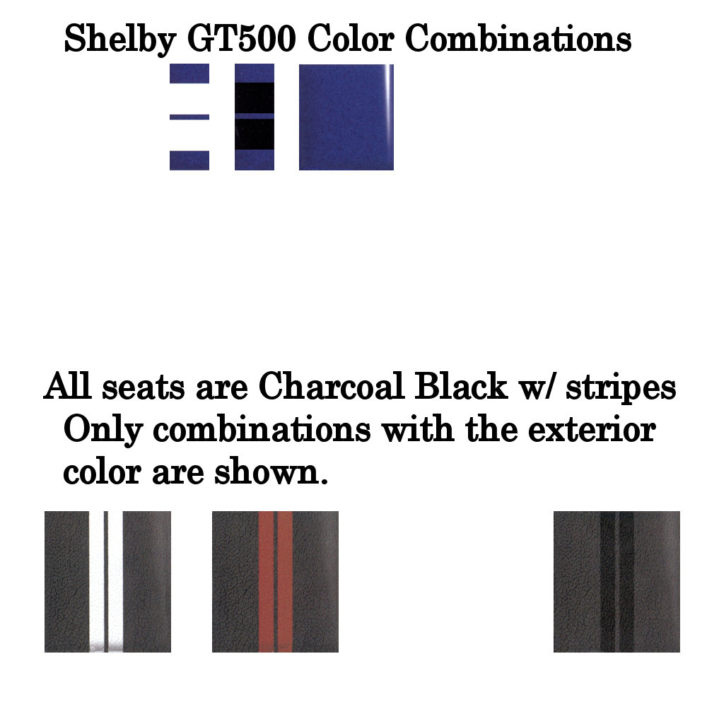 2013 Shelby Deep Impact Metallic Blue