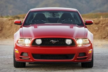 2014 Mustang Color Information