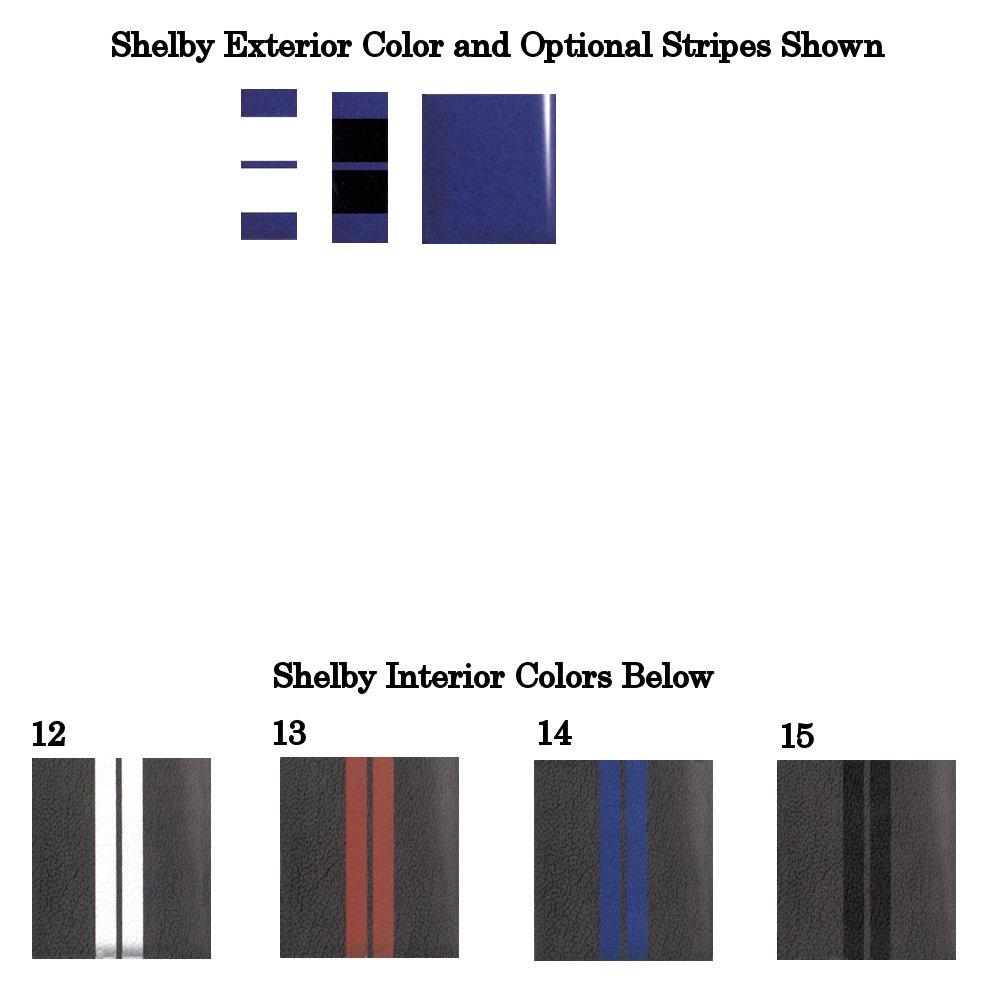 2014 Shelby Deep Impact Metallic Blue