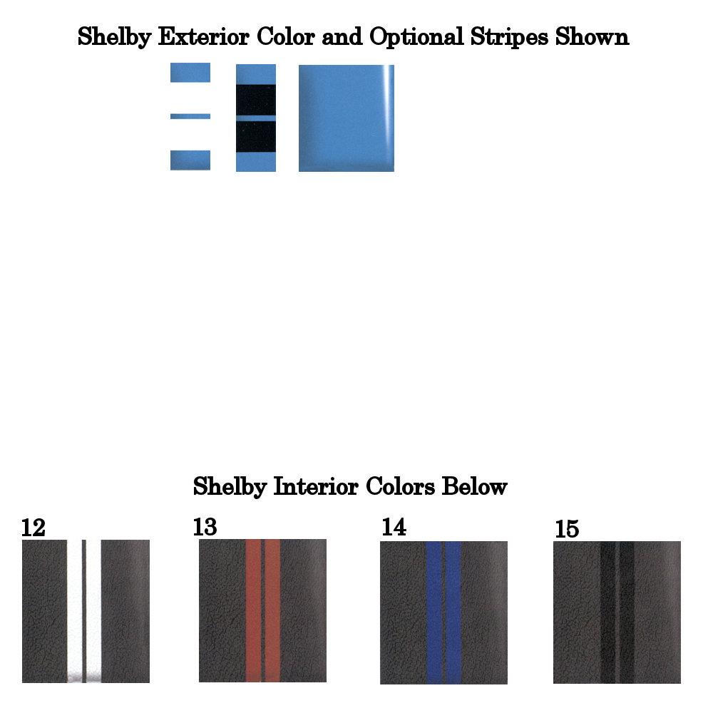2014 Shelby Grabber Blue