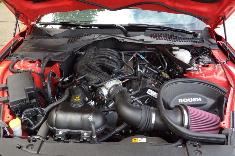 2015 v6 mustang engine