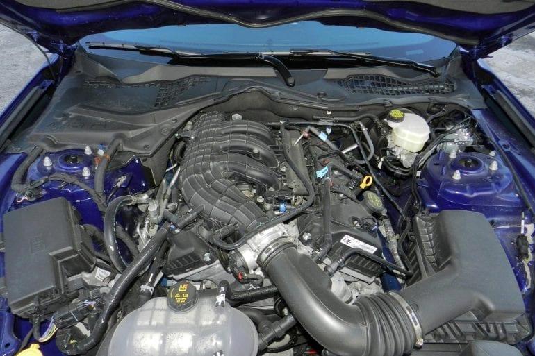 2016 v6 mustang engine