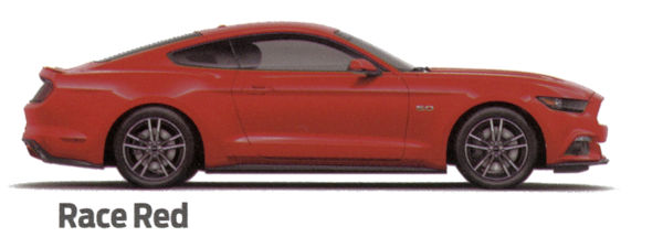 2015 Mustang Race Red