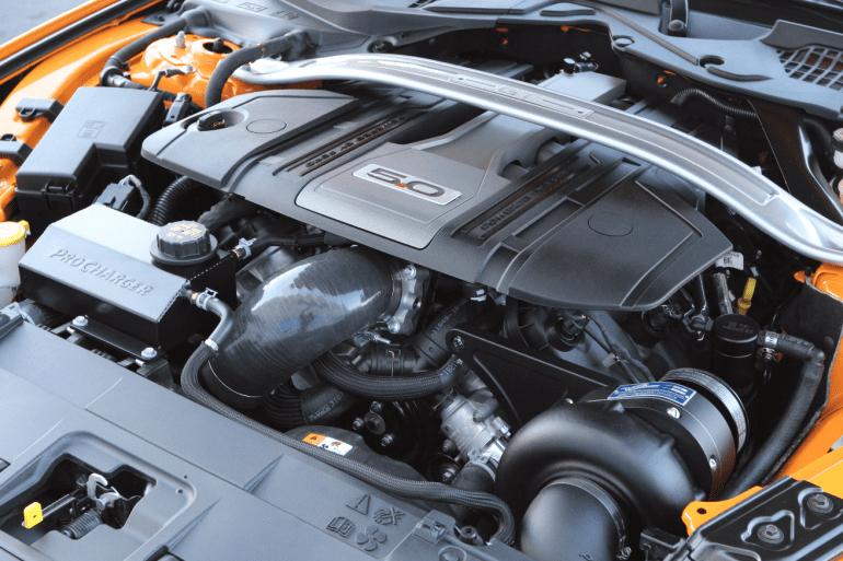 2020 Mustang Engine Information - 302 cubic inch V-8 (5.0 L Coyote V8)