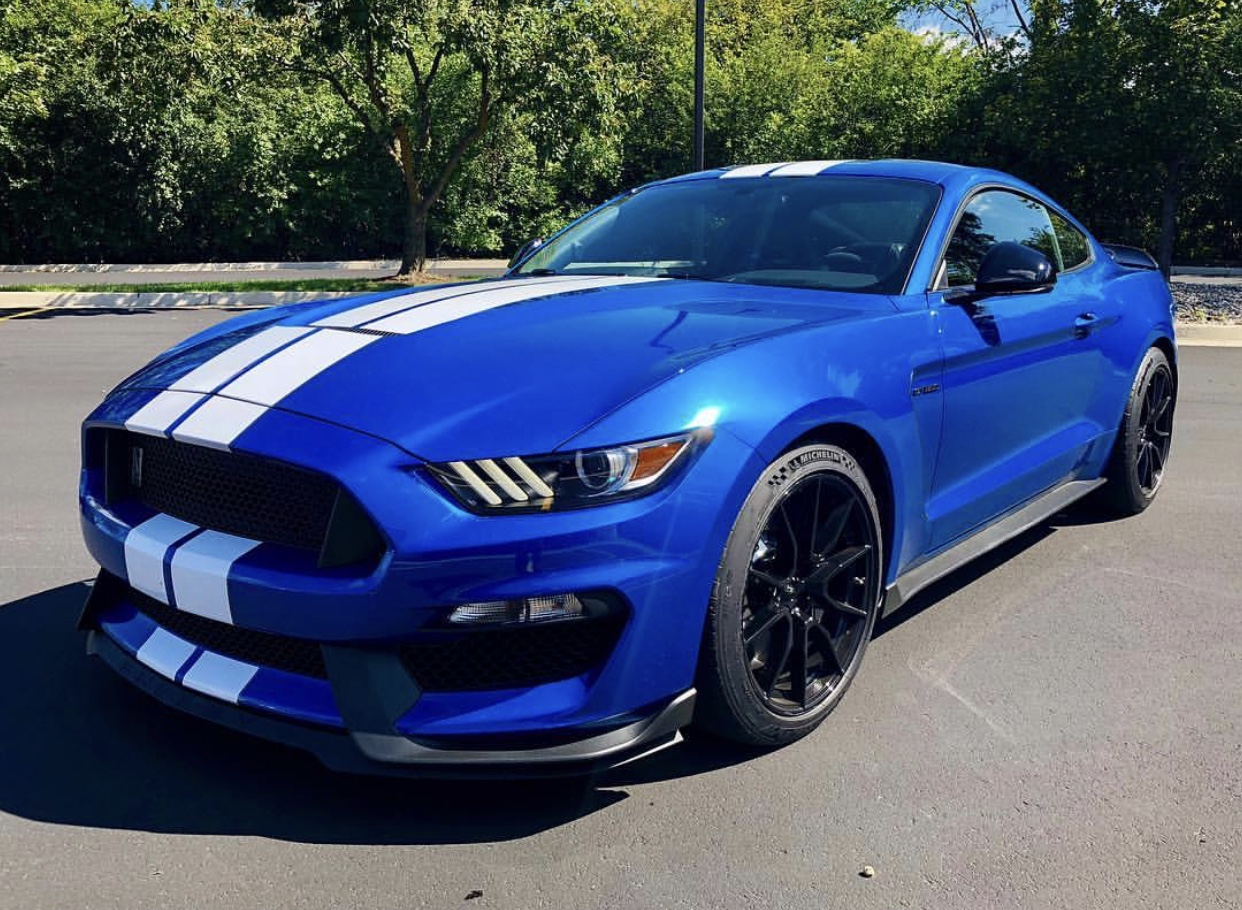Velocity Blue 2019 Ford Mustang
