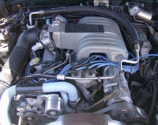 1986 Mustang 5.0 engine