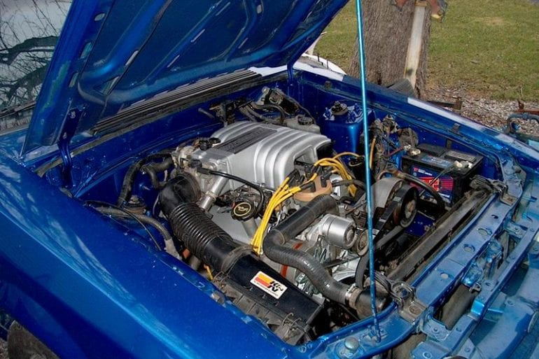 1987 Mustang 5.0 engine