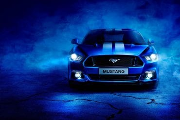 Blue Mustang Colors & Pictures