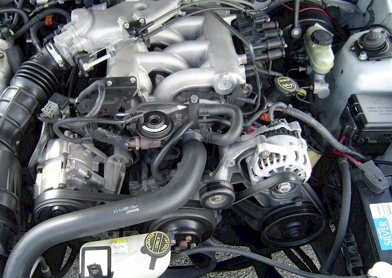1998 Mustang Engine Information Specs 232 Essex V6 Engine 3 8 L