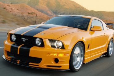 Orange Mustang Colors