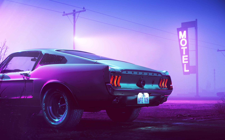 Purple Mustang Colors