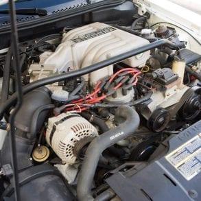 1995 SVT MUSTANG COBRA R engine