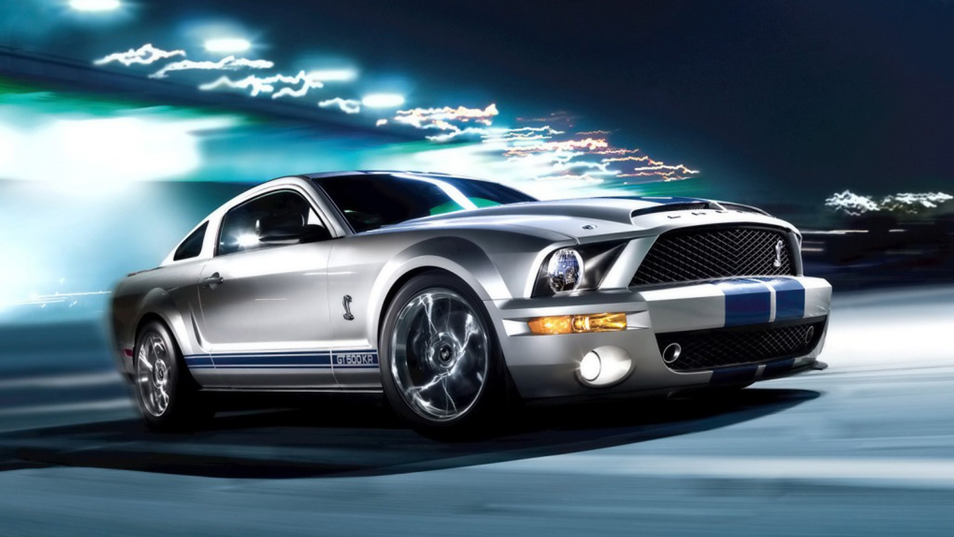 Silver Mustang Colors