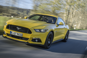 Yellow Mustang Colors