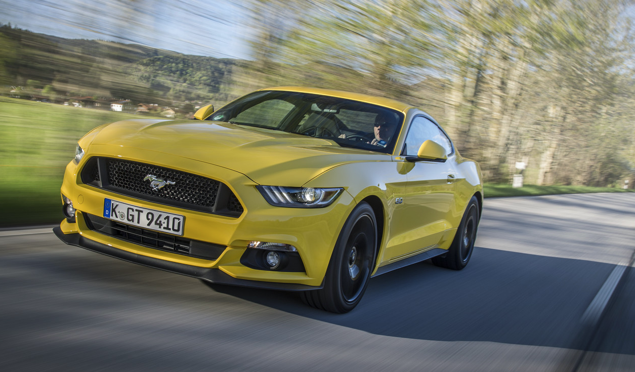 Yellow Mustang Colors