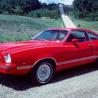 1974 mustang colors