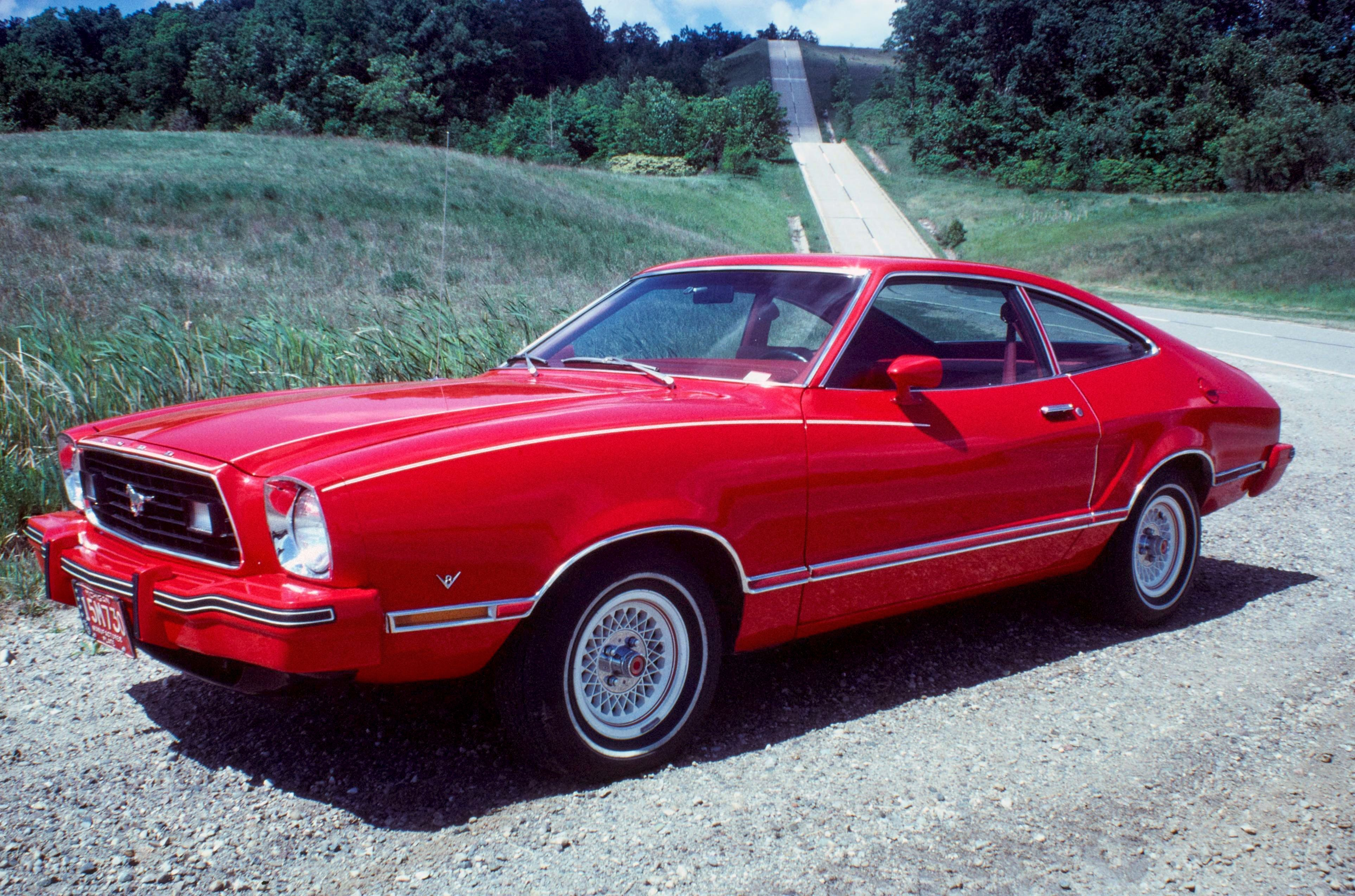 1974 mustang colors