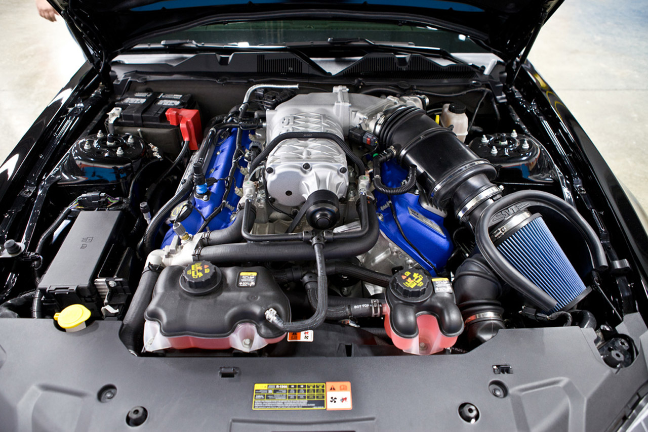 2013 SHELBY GT500 Engine
