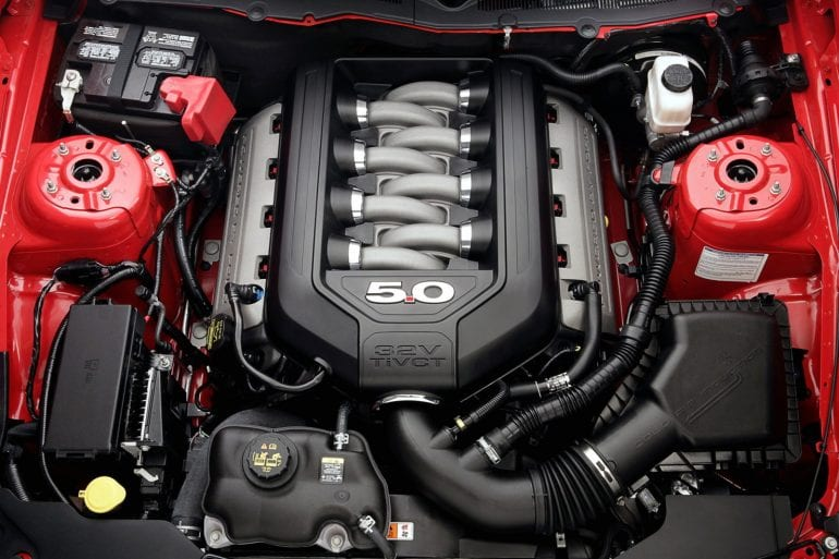 2011 Mustang Engine