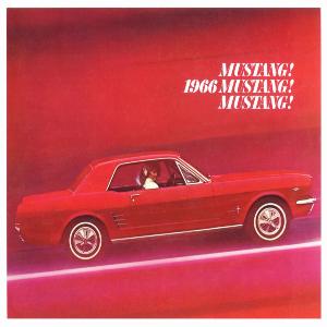 free 1966 ford mustang sales brochures