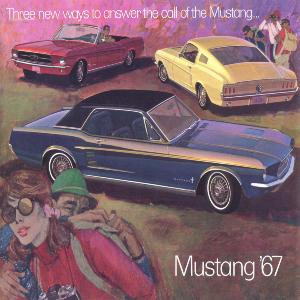 free 1967 ford mustang sales brochures