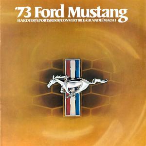 free 1973 ford mustang sales brochures