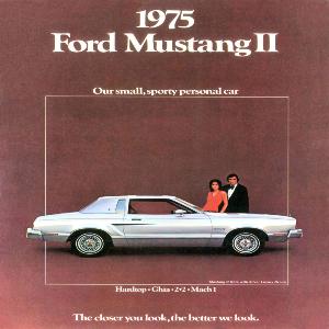 free 1975 ford mustang sales brochures
