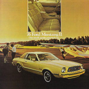 free 1976 ford mustang sales brochures