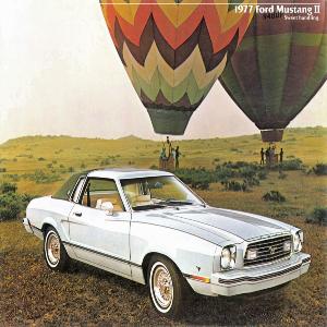 free 1977 ford mustang sales brochures