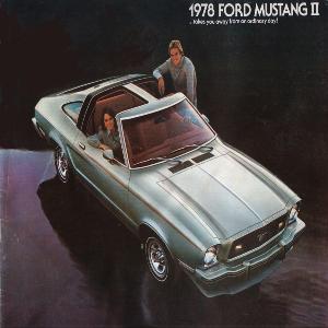free 1978 ford mustang sales brochures