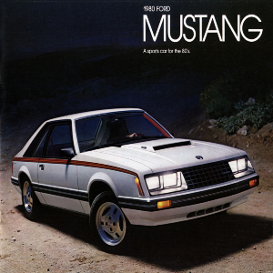 free 1980 ford mustang sales brochures