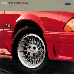 free 1989 ford mustang sales brochures