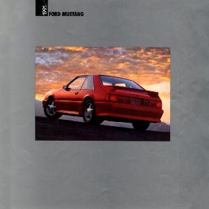 free 1991 ford mustang sales brochures