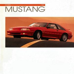 free 1993 ford mustang sales brochures