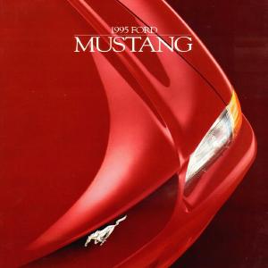 free 1995 ford mustang sales brochures