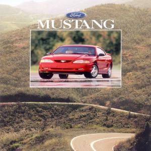 free 1996 ford mustang sales brochures