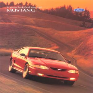 free 1998 ford mustang sales brochures