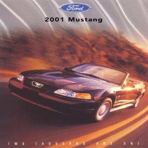 free 2001 ford mustang sales brochures